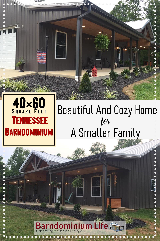 40x60 Tennessee Barndominium Metal Building House Plans Metal House Plans Barn House Plans