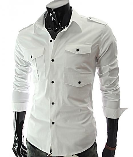 V-Double Contrast #CasualShirt For #Men Price: 1400 PKR Cloth ...