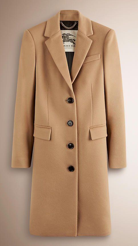 Camel Tailored Wool Cashmere Coat - Image 1 | Jackets/Coats I want ...