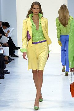 Ralph Lauren Spring 2004 Ready-to-Wear Fashion Show - Ralph Lauren, Hana Soukupova