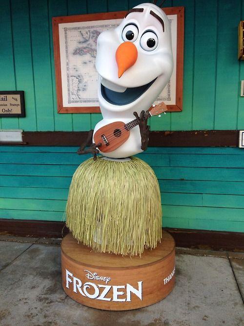 Olaf at Castaway Cay ⛄️