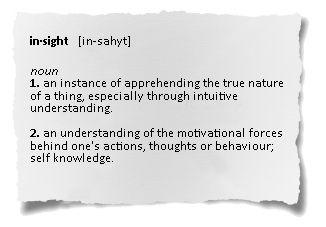 Define Insight Google Search