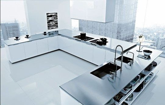 idées plan de travail de cuisine decodesign   Décoration - installation plan de travail cuisine