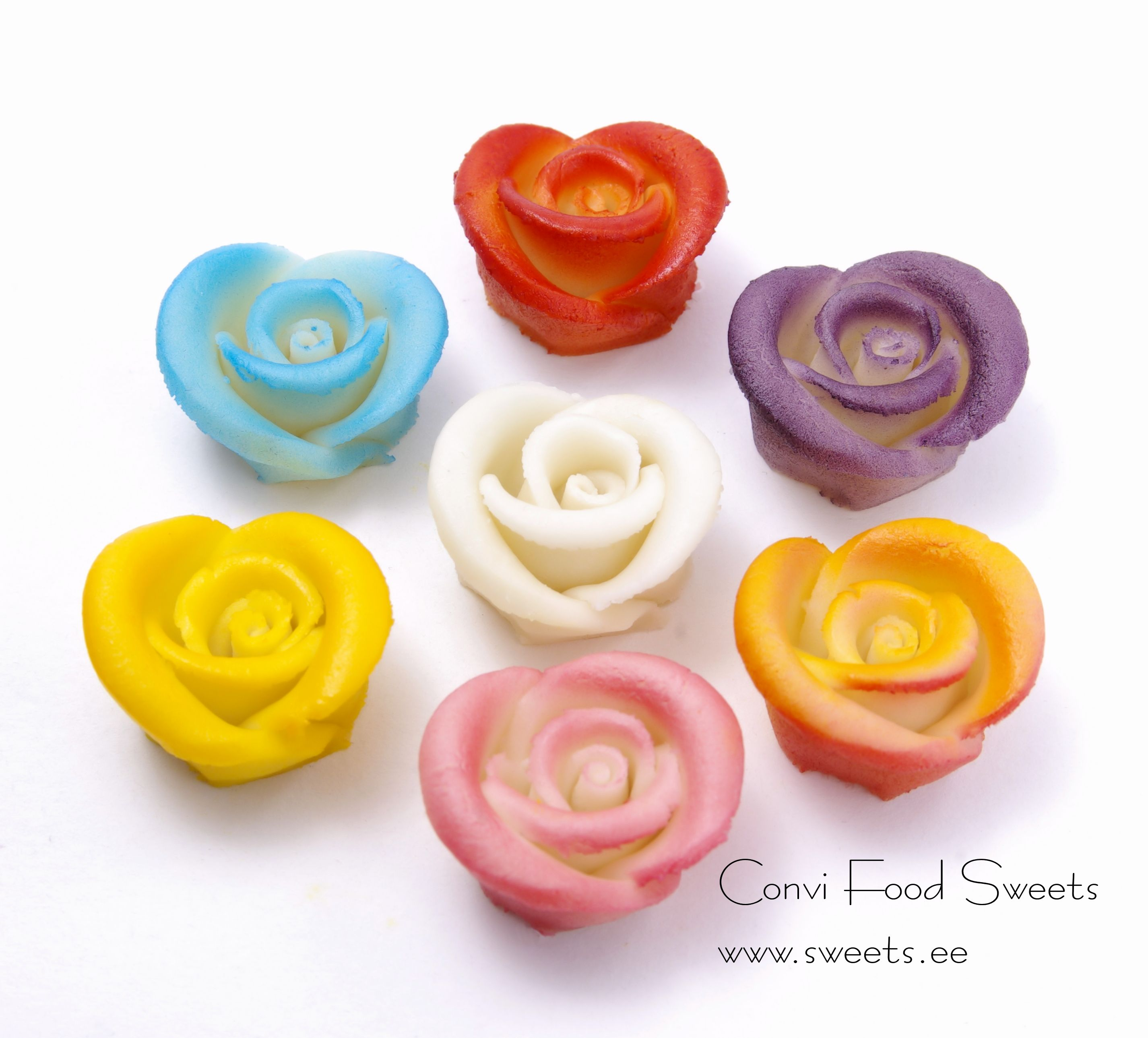 Marzipan Cake Decorations / Roses SR008