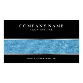 pool business cards