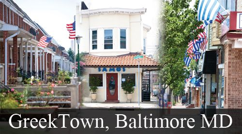 Greek Town, Baltimore <3 Maryland