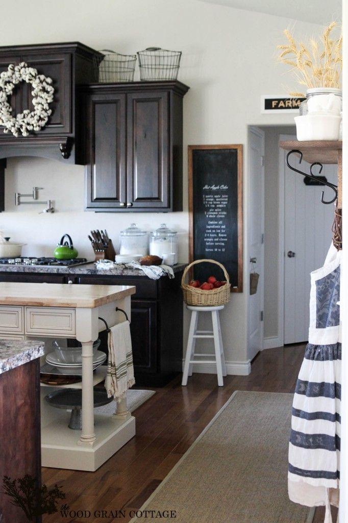 Stunning Cottage Kitchen The Wood Grain Cottage