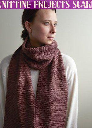 Photo of Mini Herringbone Scarf Kostenloses Strickmuster von Purl Soho #knittingprojectsscarf …