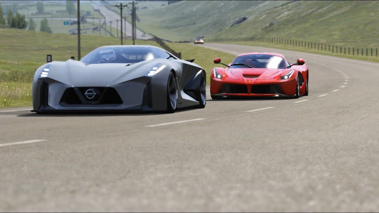 Nissan Concept 2020 Vision Gt Vs Spot Luxury Cars At Highlands Luxury Cars Nissan Amazing Cars