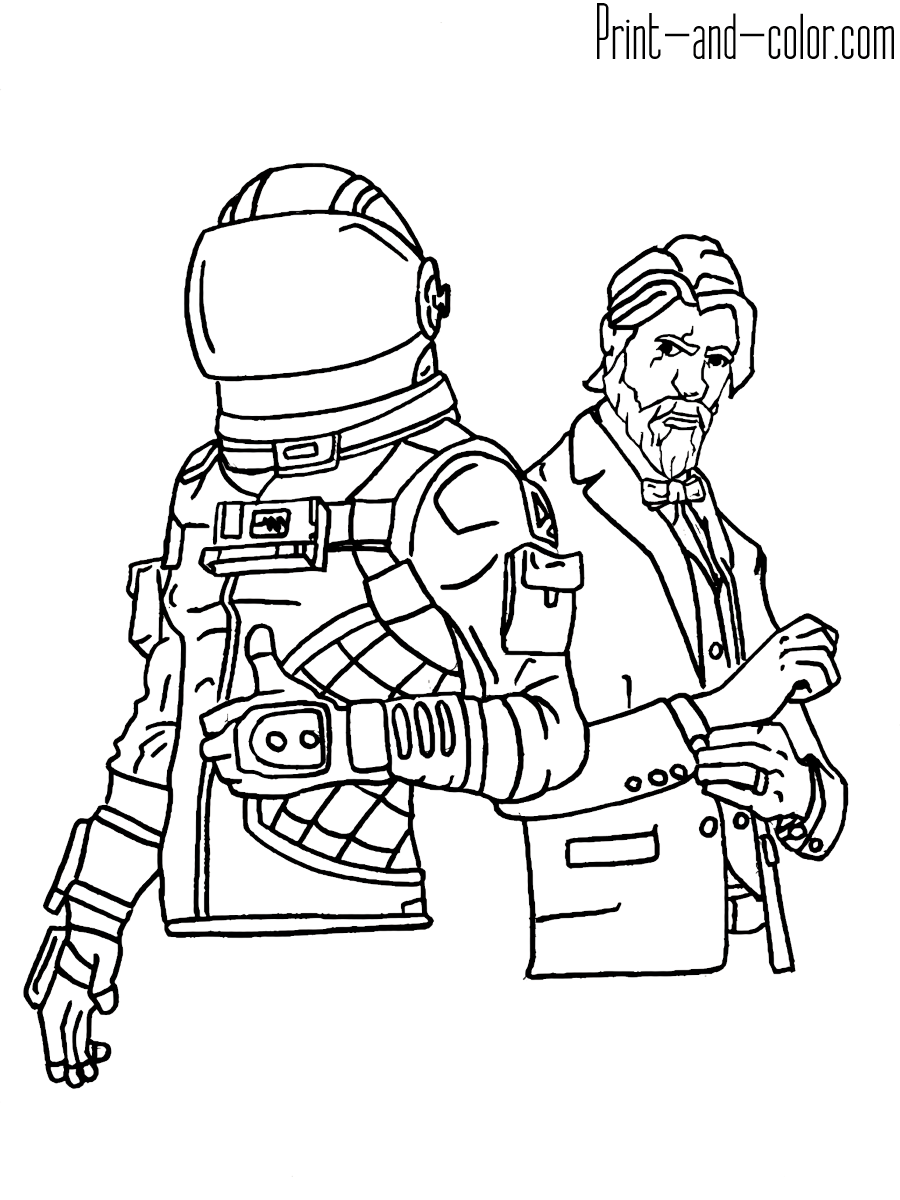 Fortnite Coloring Pages Print And Color Com Cool Coloring Pages Coloring Pages Coloring Pages For Kids