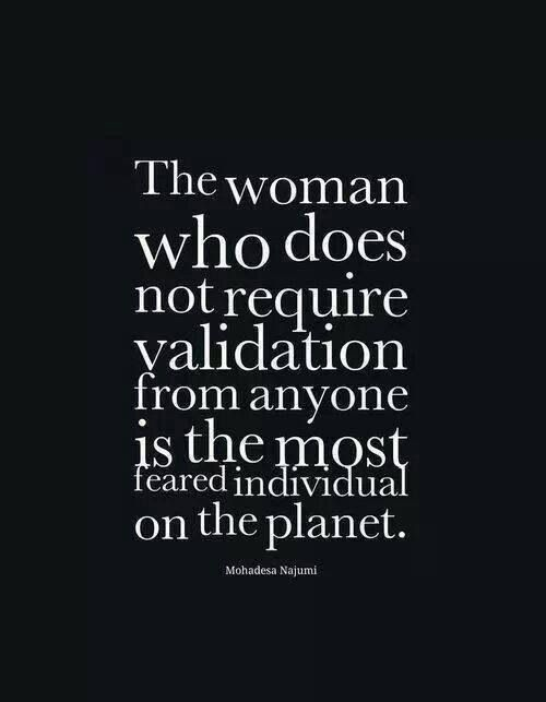 Need for validation from others