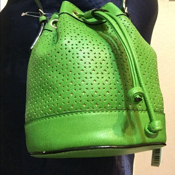 Cross body Very nice cross body in green. Kate Landry Bags Crossbody Bags