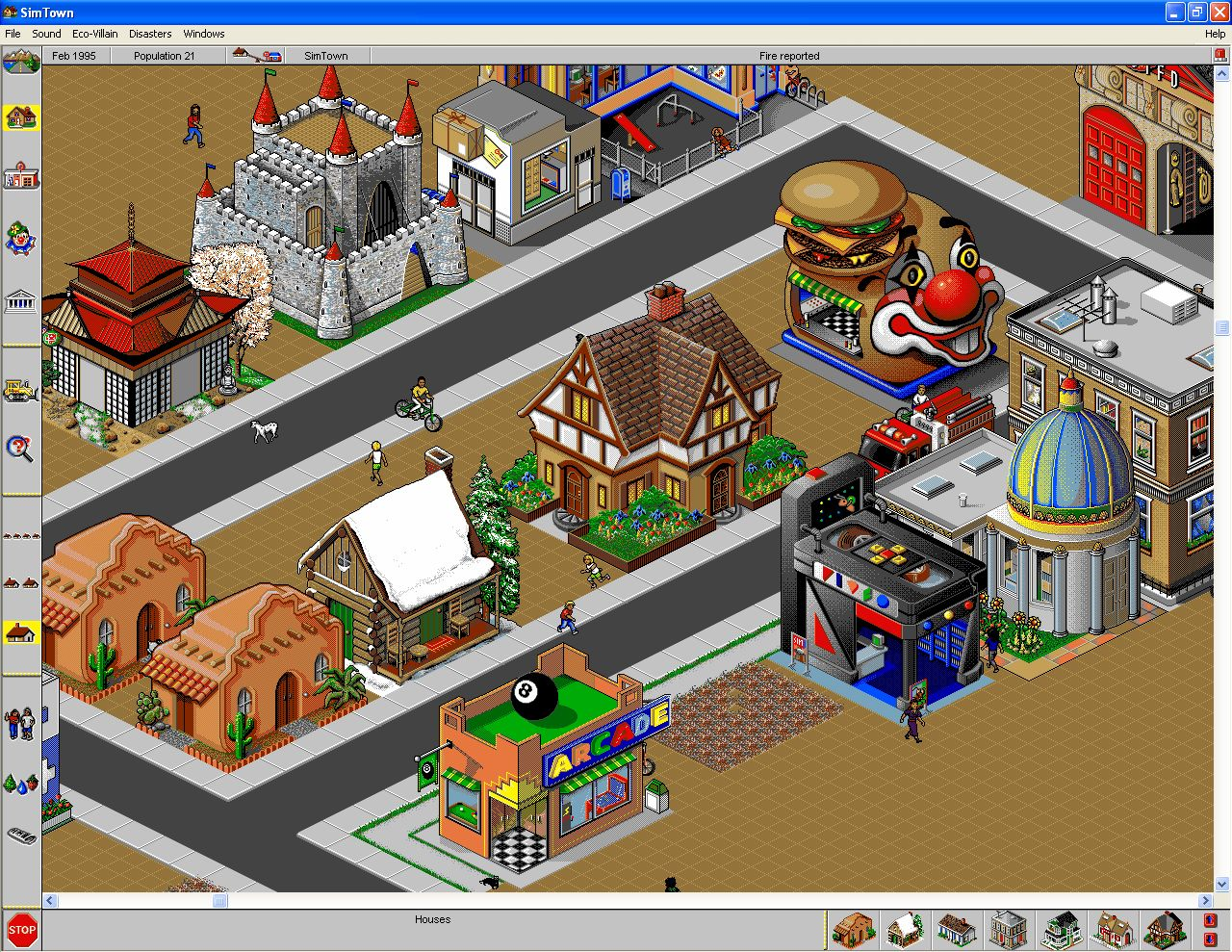 Sim Town Old Computer Games I Loved as a Kid Childhood