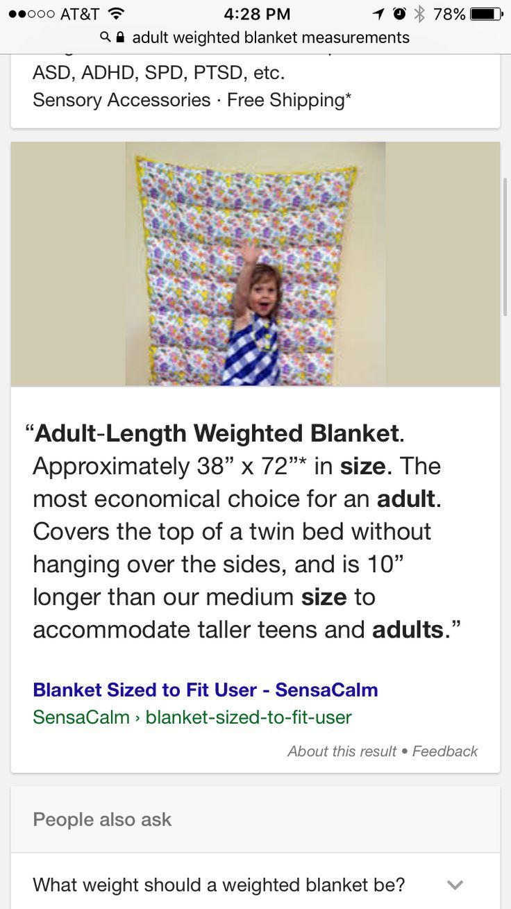 Weighted Blankets DIY Adult weighted blanket
