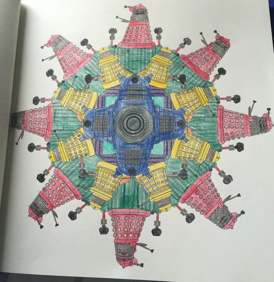 Daleks - Doctor Who Coloring Book by syaoranlover5 on DeviantArt ...