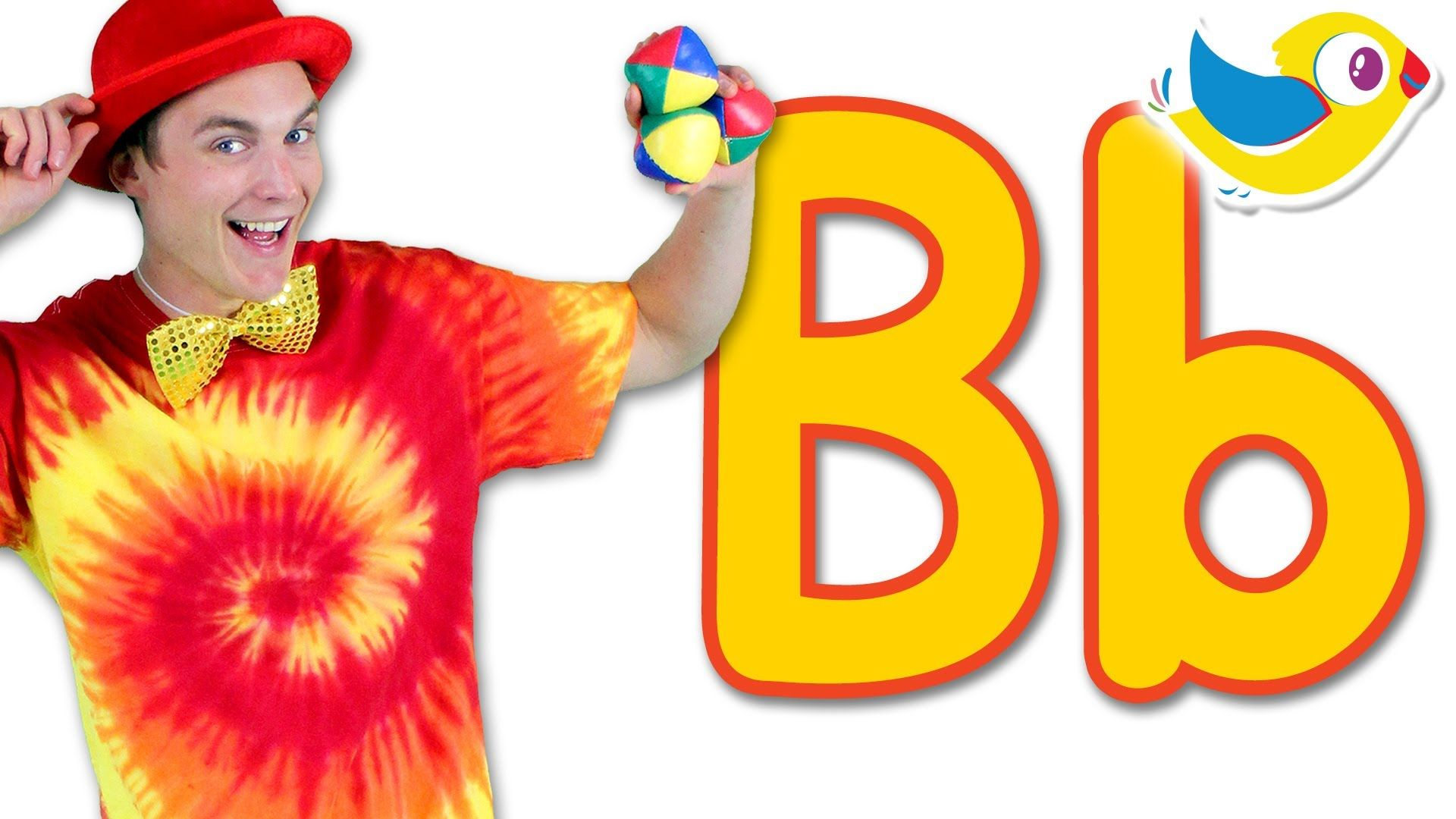 Learn the alphabet The Letter B Song, starring Will