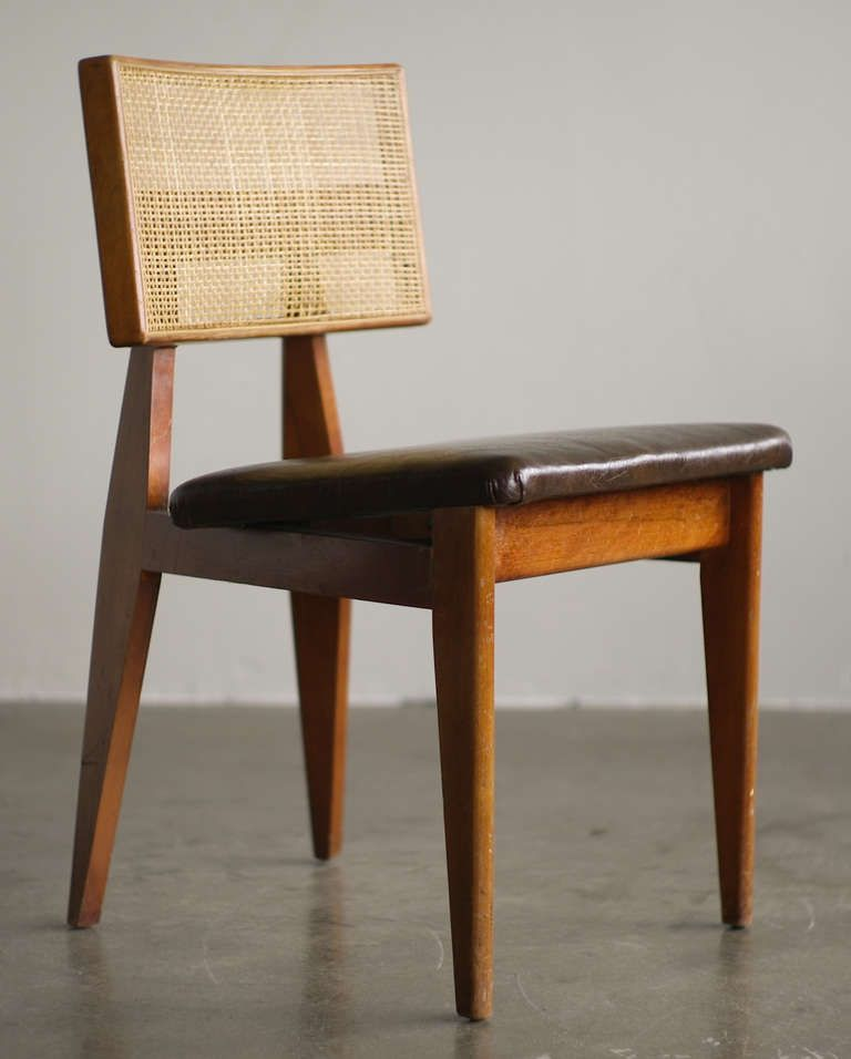 George Nelson Original Cane Back Side Chair