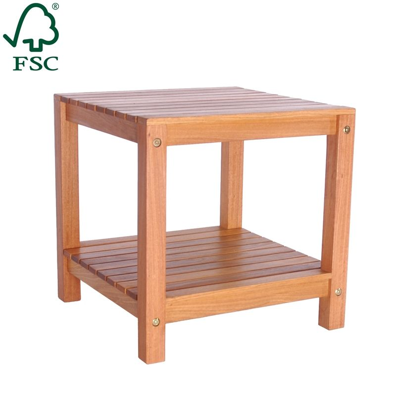 Mimosa 45 X 45cm Small Timber Side Table Bunnings Warehouse