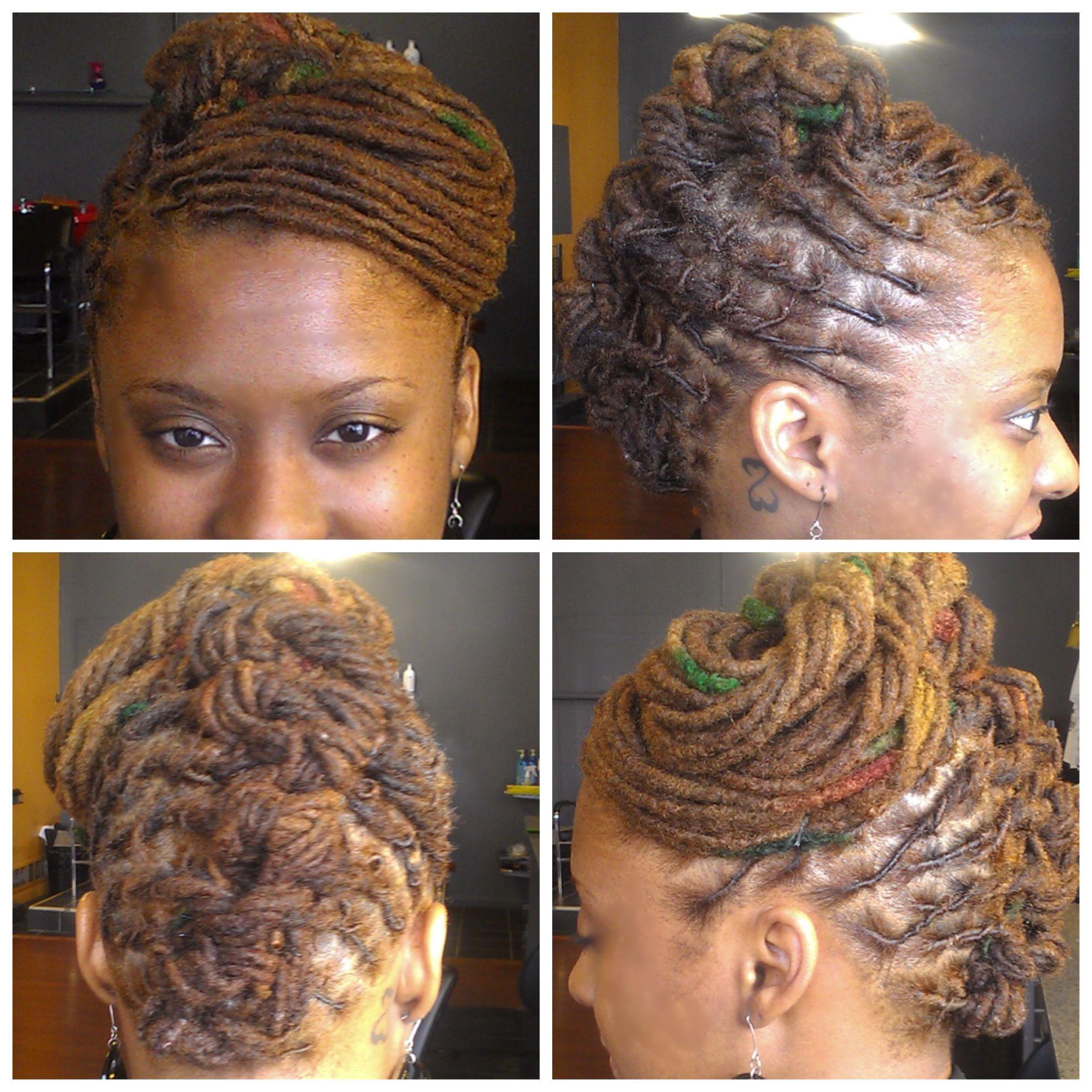 loc updo My work my vision Gods grace Pinterest