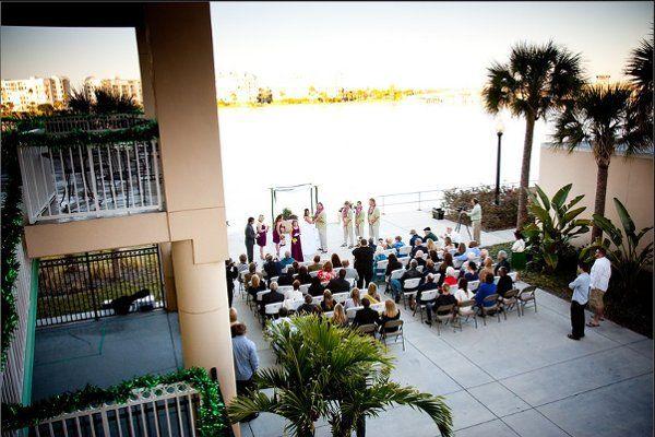 St Pete Beach Community Center Wedding Ceremony Reception Venue Florida Tampa