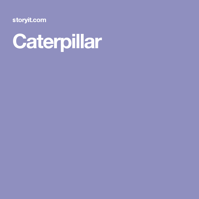 Caterpillar Christina Rossetti Poems Images