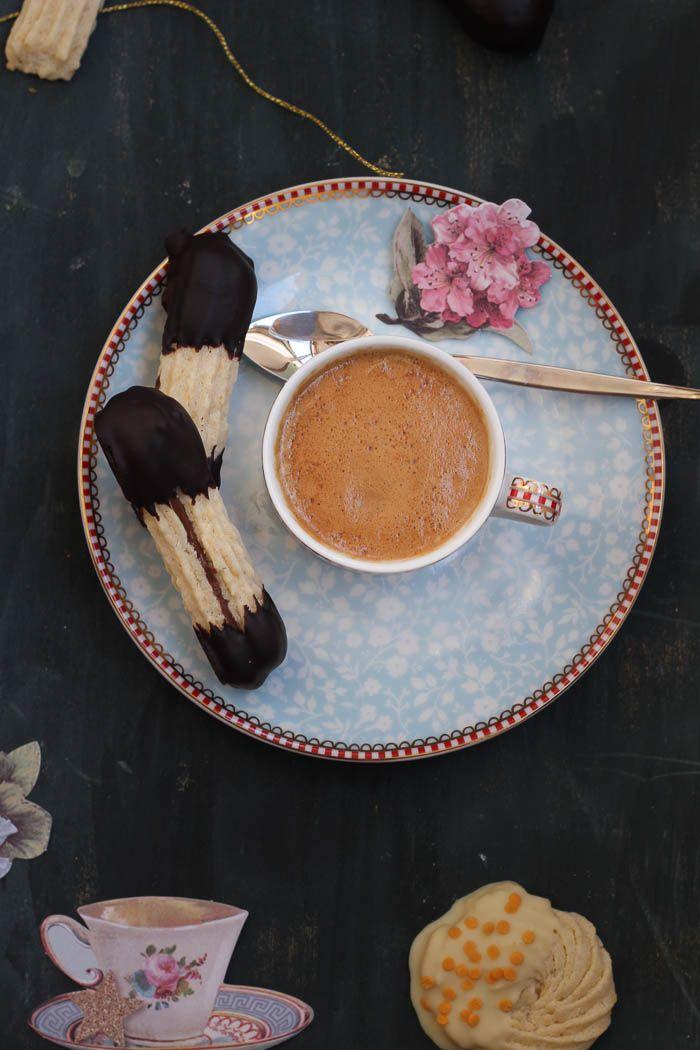 Pastas de té para el desayuno de domingo