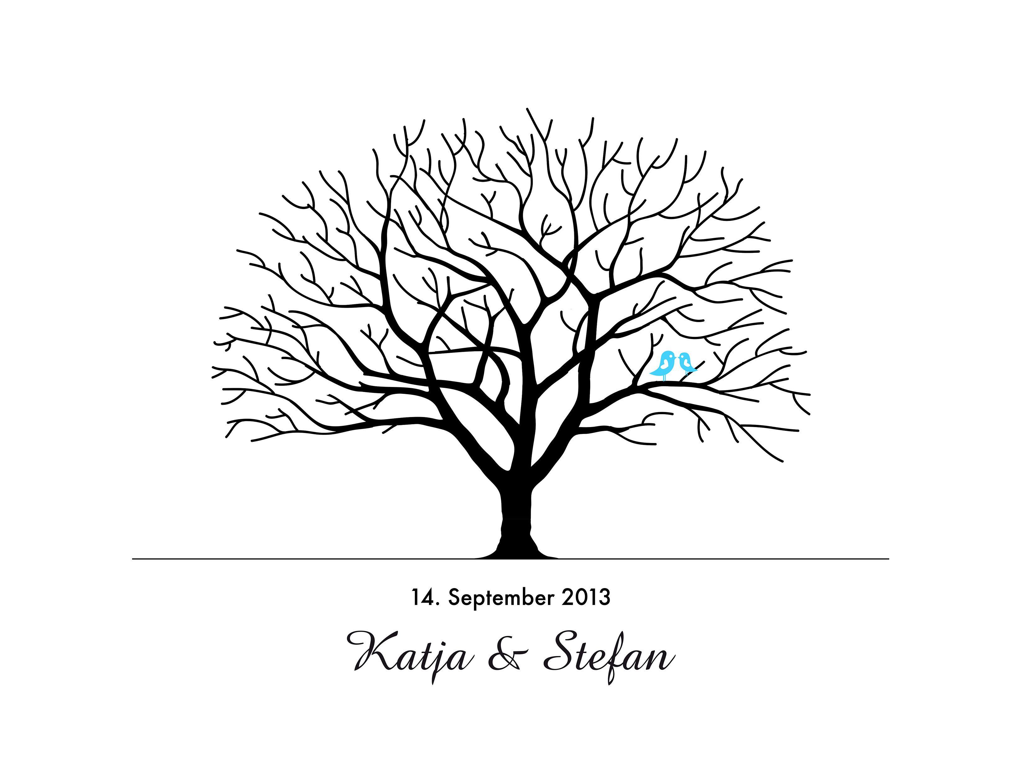 Hochzeitsbaum auf leinwand selbst gestalten hochzeitsbaum diy blog und selbst gestalten - Leinwand vorlagen ...