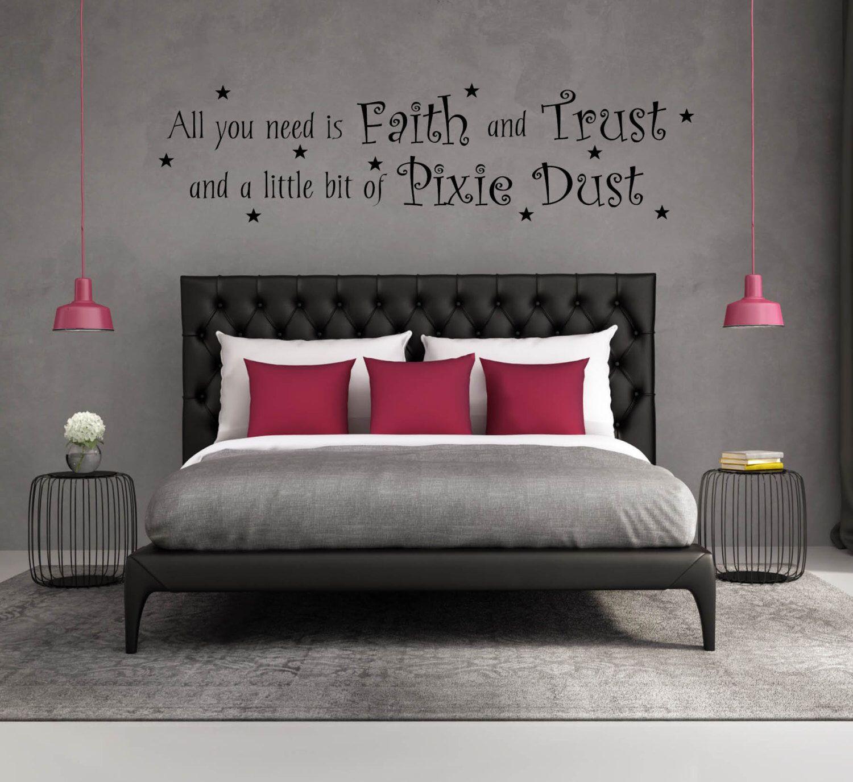Wall decal quote vinyl decal quote wall decals for bedroom