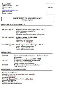 Exemples Exemples De Cv Resume Template Free Downloadable Resume Template Job Resume Template