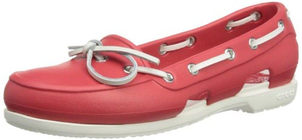 Chaussures Bateau Femme Crocs Beach Line
