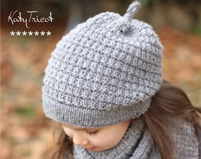 "Owl Hat Knitting Pattern ""Chouette"" (Toddler, Child, Adult sizes) - English, French & Russian ..."