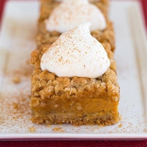 Pumpkin Pie Bars Desserts: Pumpkin Dessert, Pumpkin Recipes