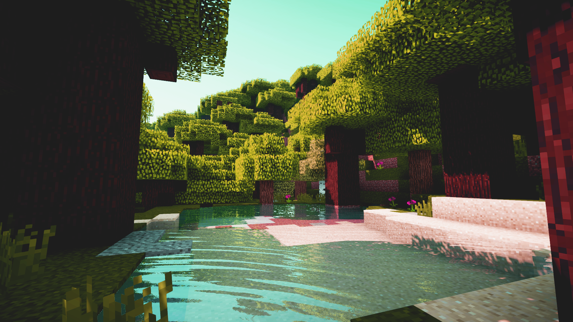 Minecraft Shaders Screenshot (Edited) [1920x1080