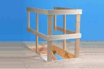 Best Loft Ladder Guard Rail Loft Ladder Ladder Loft Room 400 x 300