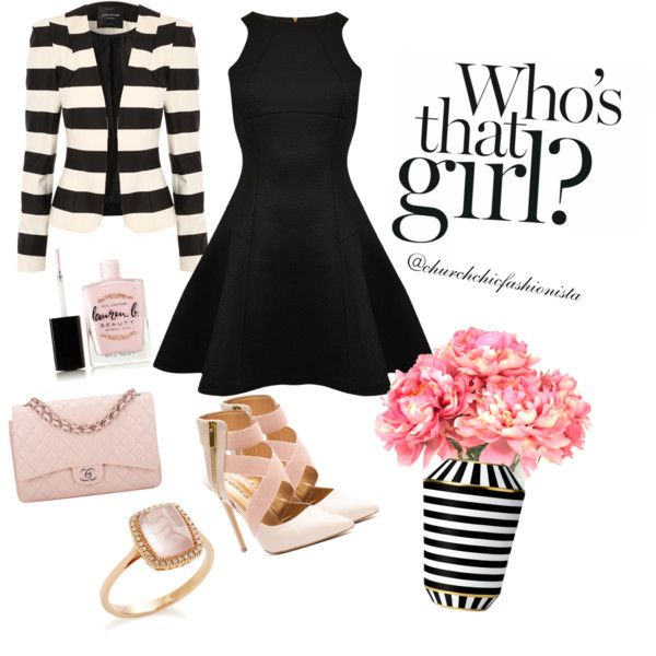 Church Girl by churchchicfashionista on Polyvore featuring polyvore fashion style Ted Baker Jane Norman Chanel Lauren B. Beauty Fürstenberg INC International Concepts