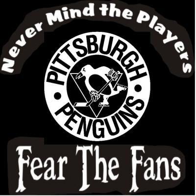 NEW Custom Screen Printed T Shirt Pittsburgh Penguins Never