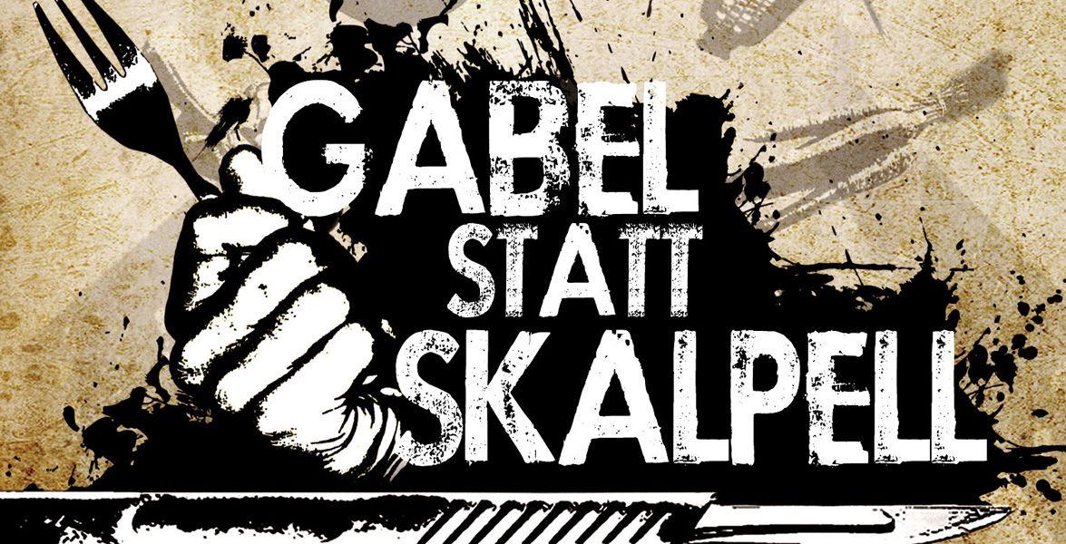 """""""Gabel Statt Skalpell"""" auf DVD - DVD-Dokumentation - Gänsekeule, Entenbrust und Lammbraten: Was eine einseitige Ernährung anrichten kann, zeigt die US-Dokumentation """"Gabel Statt Skalpell""""."""