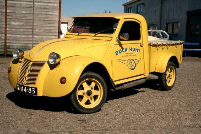 Duck Hunt 2cv Pick Up Model Published At Www Allcarindex Com Duck Hunting Duck Car
