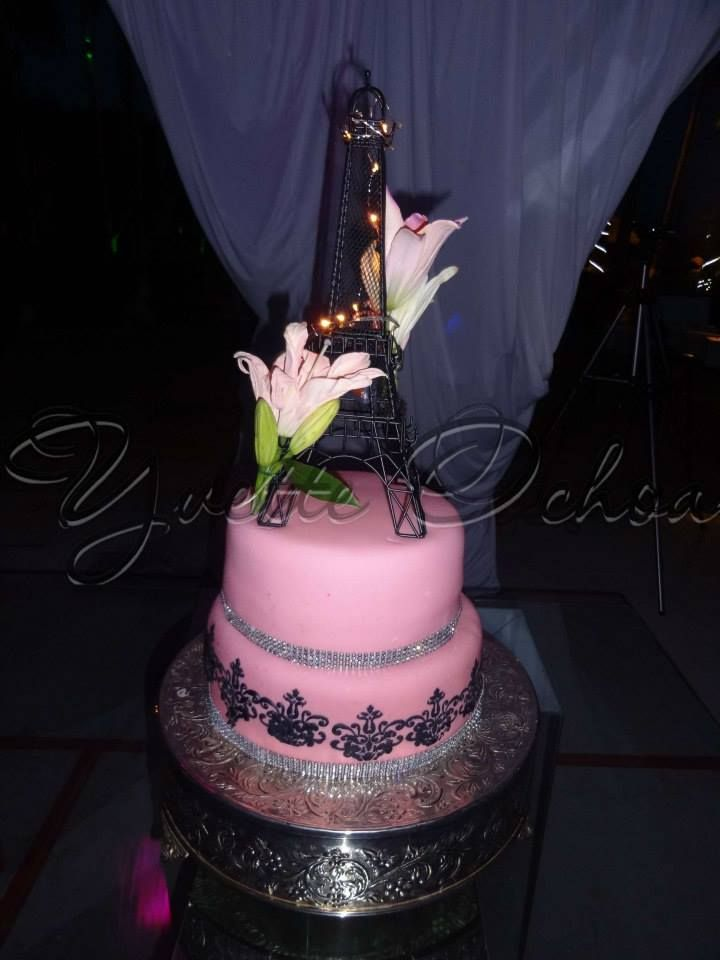Pastel de XV años en Mexicali F#1.330 / Sweet 16 cake