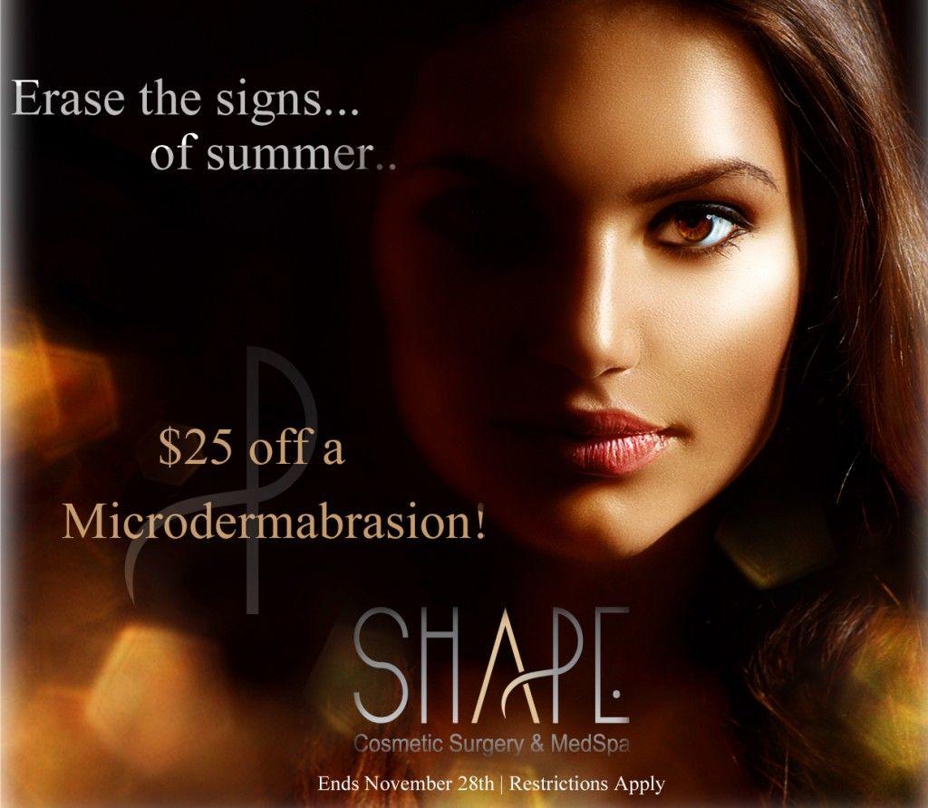 Save $25 on a microdermabrasion!