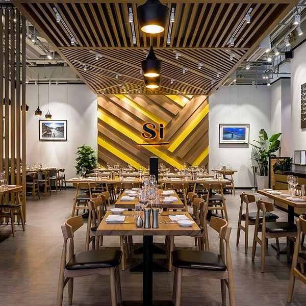Si restaurant by star plus retail design restaurants