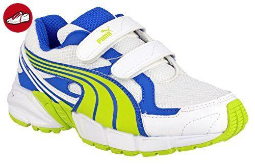 Puma Axis Mesh V2 Velcro Boys Trainers Li blu Size 2 - Puma schuhe ... a9958b36c