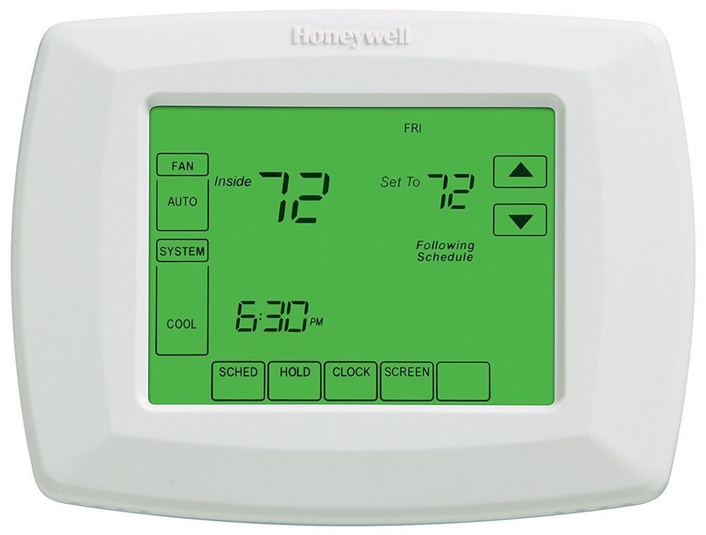 Honeywell Rth8500d 7 Day Touchscreen Programmable Thermostat C