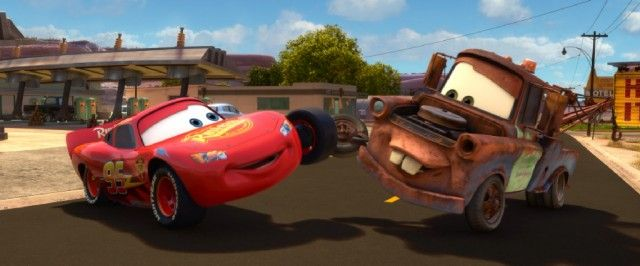 Upon His Return To Radiator Springs Lightning Mcqueen Looks Forward To A Summer Of Best Friend Fun With Tow Mater