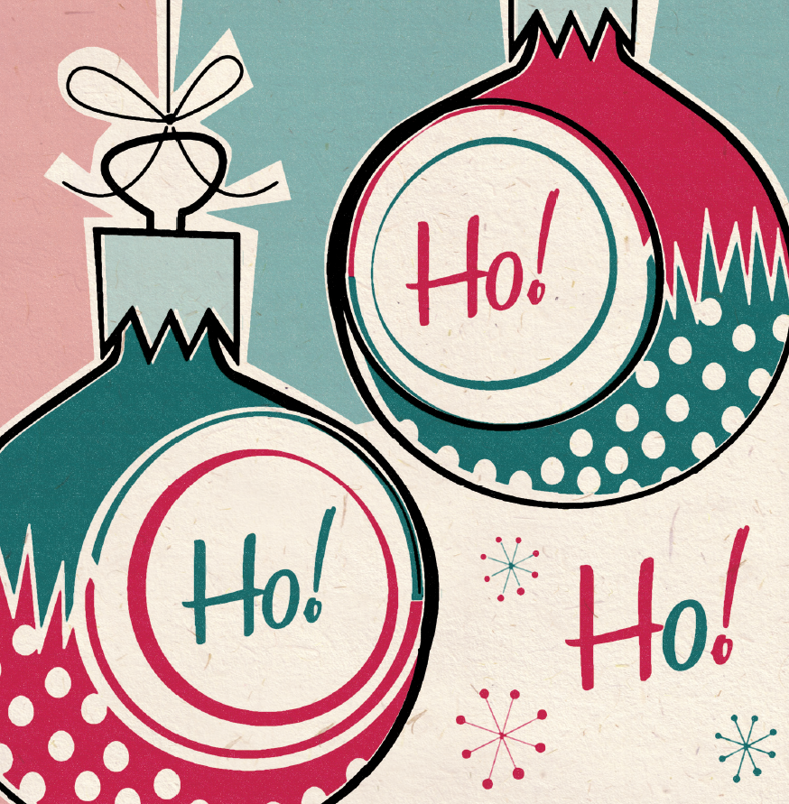 1950 S Christmas Card Ideas | inspiration from those lovely glass ...
