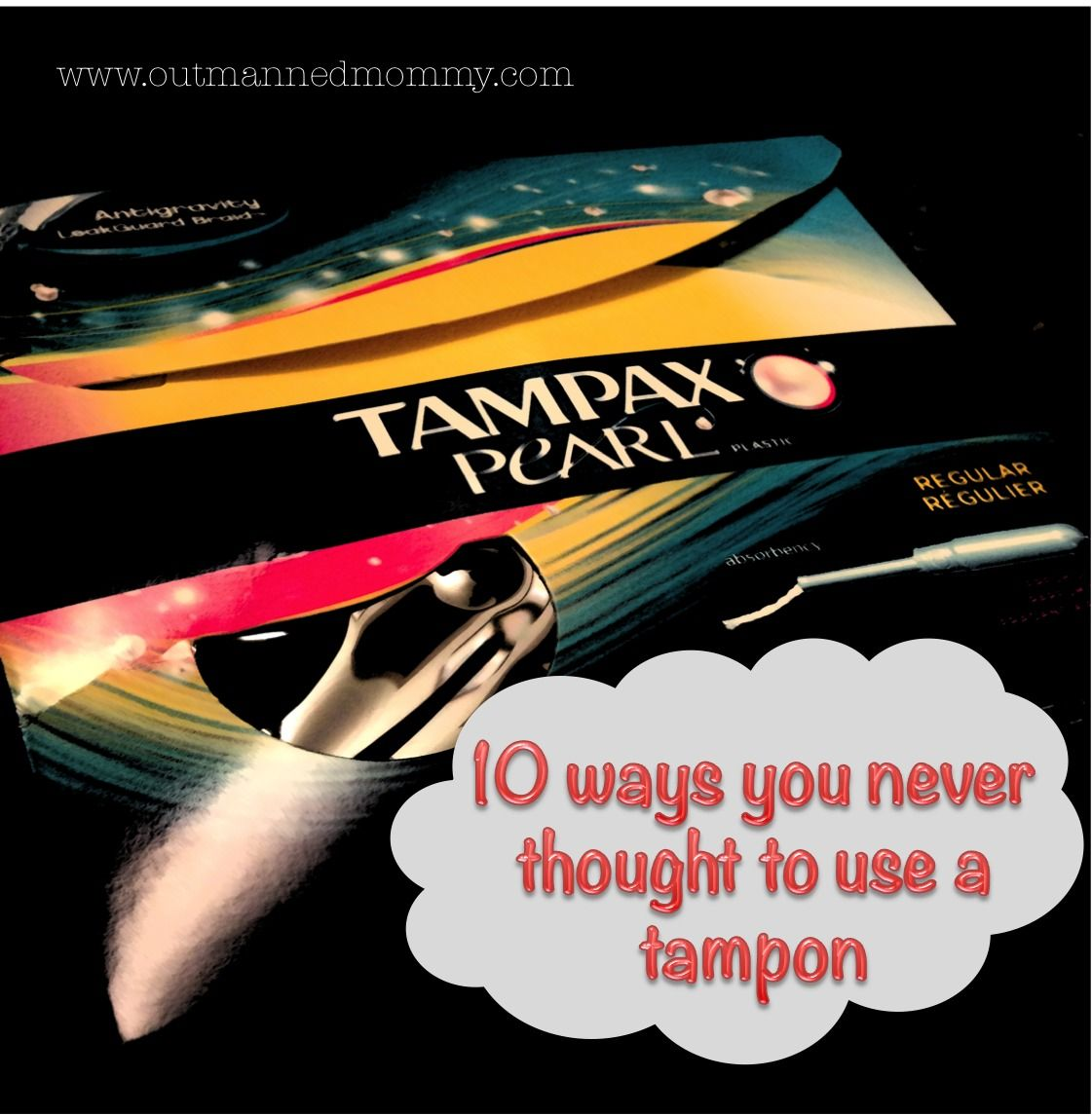 how to use a tampon right