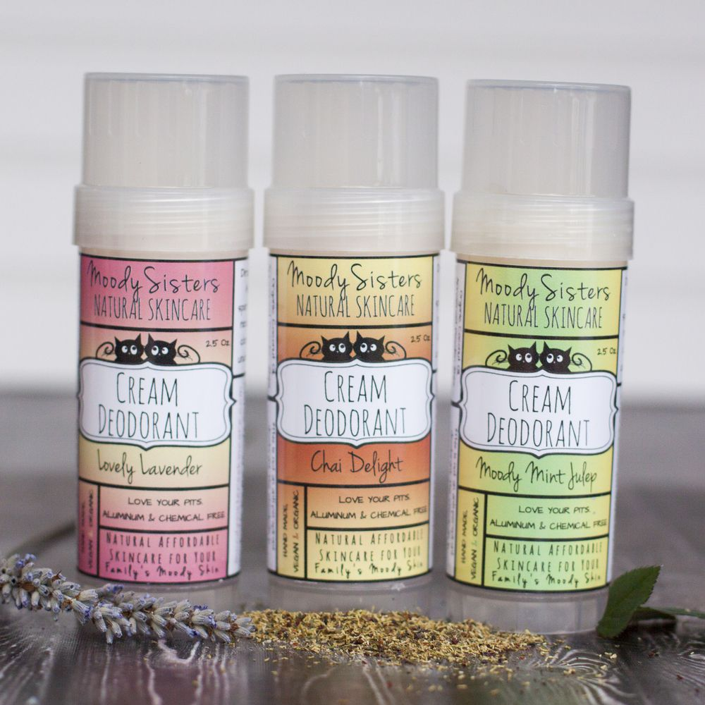 Cream Deodorant  Natural deodorant Vegan deodorant and Organic