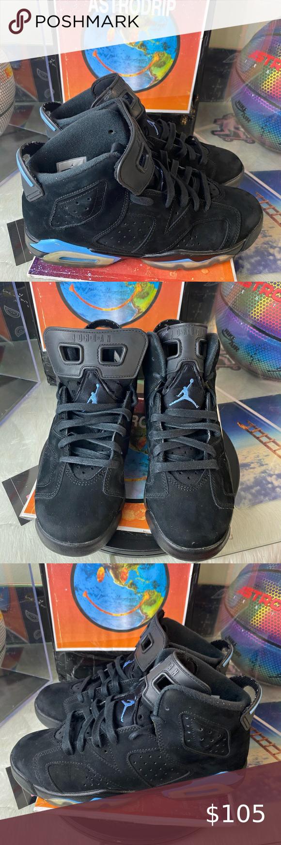 Air Jordan 6 Retro GS 'UNC' Size Womens 8 🔥Drip or skip