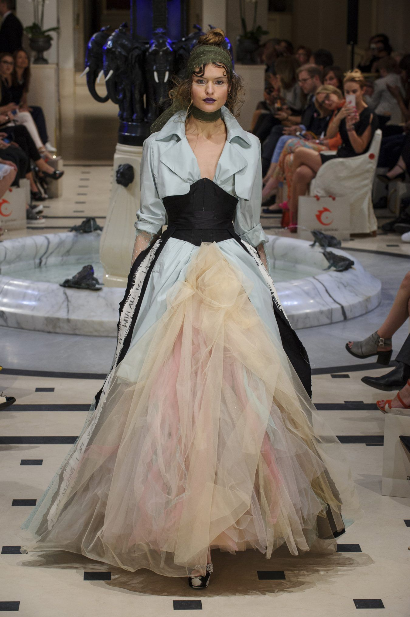 Anja gockel spring fashion show dress obsessed board