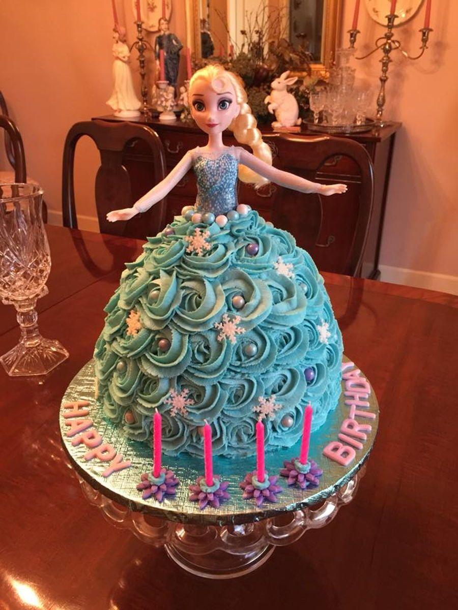 Elsa Birthday Cake Elsa birthday cake, Frozen birthday